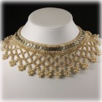 Baar and Beards Vintage Beaded Collar