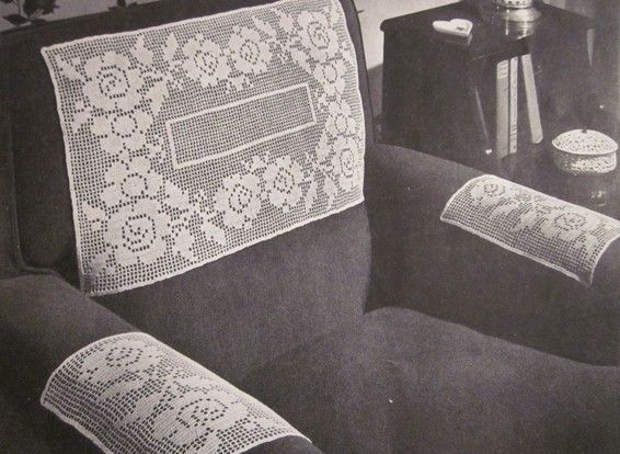 Antimacassars were a type of covering or protection for the back of stuffed  furniture as well as the arms in the 1800s. They were made specifically to  keep ...